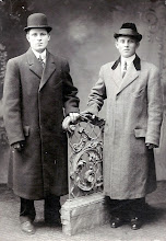 Photo: Harry Tulman and Unknown (possible cousin)