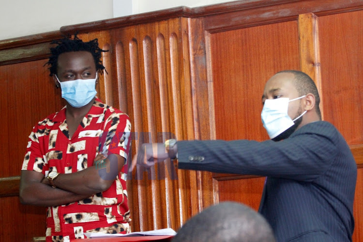 Bahati at Milimani law courts on December 1, 2020.