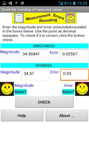 Check Rounding Measurement 1.1 screenshots 4