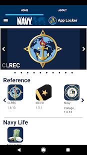 Navy App Locker - náhled