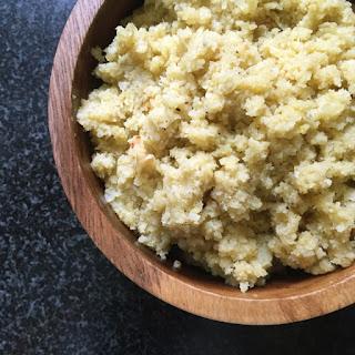 Saffron Cauliflower Rice