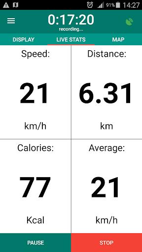 Bike Computer - GPS Cycling Tracker 2.8 screenshots 2