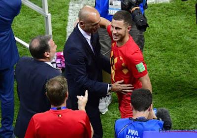 """Eden Hazard revient sur la tactique de Martinez: """"Ce système, on l'a mis au point en une séance d'entraînement"""""""