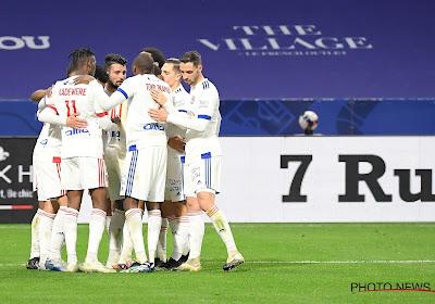 Ligue 1 : carton de l'Olympique Lyonnais face à Lorient