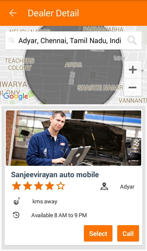 GarageCloud Car Repair Service- screenshot