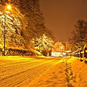 snow way by Dominik Konjedic - City,  Street & Park  Street Scenes