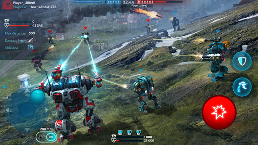 Télécharger Gratuit Robot Warfare: Mech Battle 3D PvP FPS apk mod screenshots 4