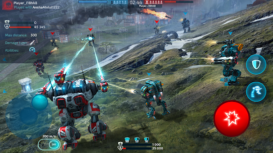 Robot Warfare: Mech Battle 3D PvP FPS (Mod apk+obb) 4