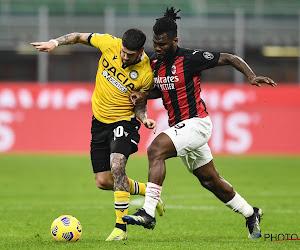 Serie A : Franck Kessie sauve l'AC Milan, Radja Nainggolan sort de la zone rouge