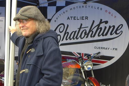 Roland Chatokhine aux Trophées Gérard Jumeaux 2016.