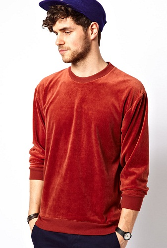Velour Men's Sweatshirt