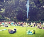After work Yoga in the Company's Gardens : Company's Garden