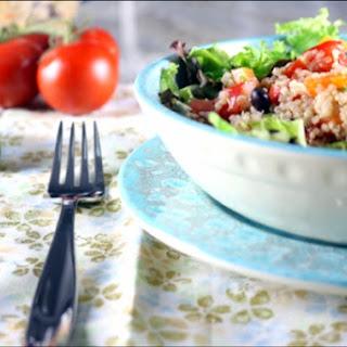Fresh Fiesta Quinoa Salsa Salad