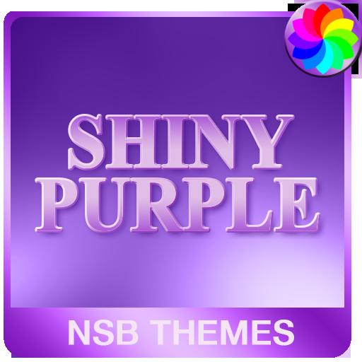 Shiny Purple Theme for Xperia