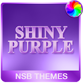 Shiny Purple Theme for Xperia