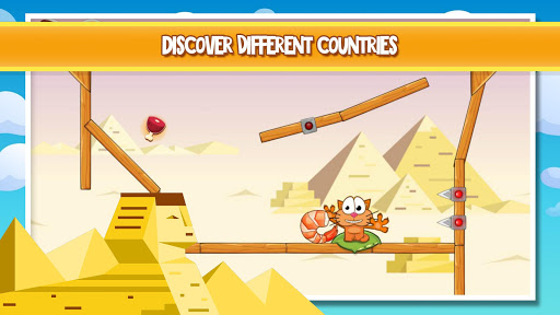 Hungry cat: physics puzzle game apklade screenshots 2
