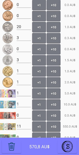 Coin Counter screenshot 2