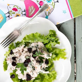 Chicken Salad in Lettuce Cups.
