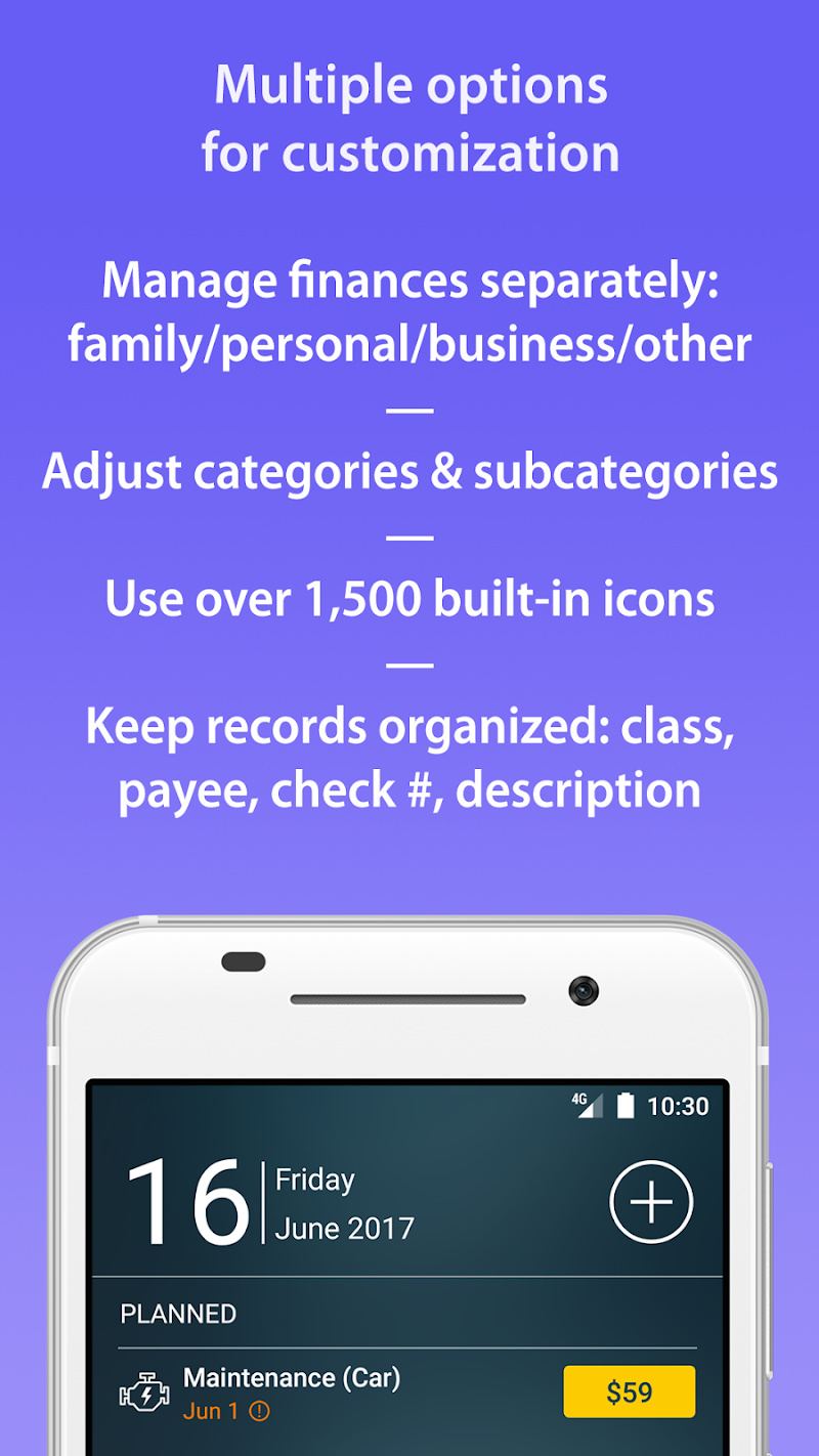 Money Pro - Personal Finance & Expense Tracker Screenshot 4