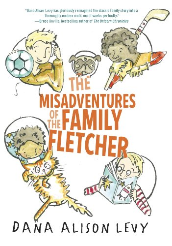 The Misadventures of the Family Fletcher by [Levy, Dana Alison]