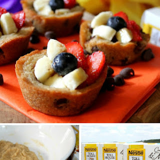 Cookie Fruit Cups.
