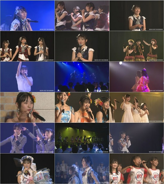 (LIVE)(720p) SKE48 チームKII「0start」公演 高塚夏生 生誕祭 Live 720p 170829