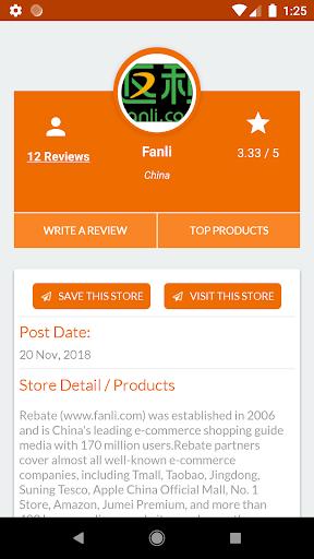 Online Shopping China Reviews screenshot 6