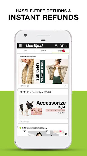 LimeRoad Online Shopping App for Women, Men & Kids 6.1.3 screenshots 4