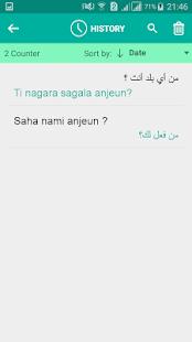 Sundanese Arabic Translator - náhled