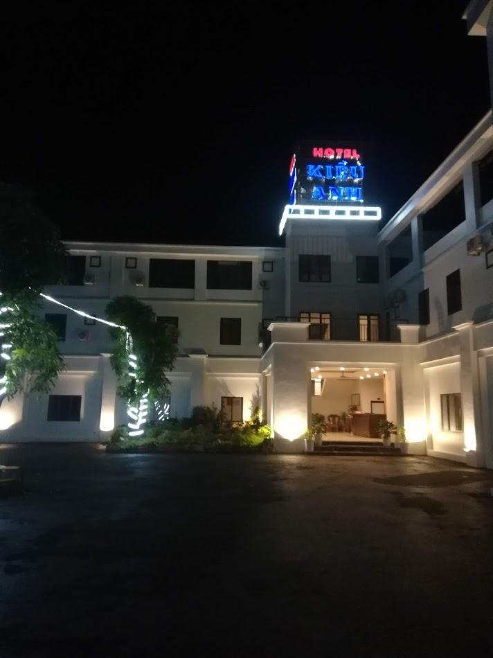 Hotellet jeg sov på. Det sto Hotel på engelsk og var splitter nytt