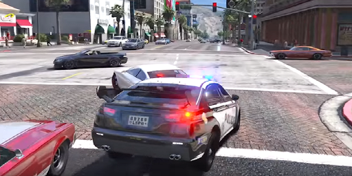 Real Police Car Games 2019 3D 1 1