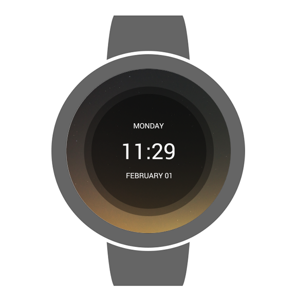 Sky Watch Face- screenshot