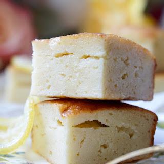 Healthy Low-Calorie Semolina Cake.