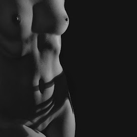 Shadows by Michaela Firešová - Nudes & Boudoir Artistic Nude