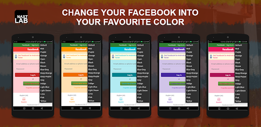 Pink Color for Facebook app (apk) free download for Android/PC/Windows screenshot