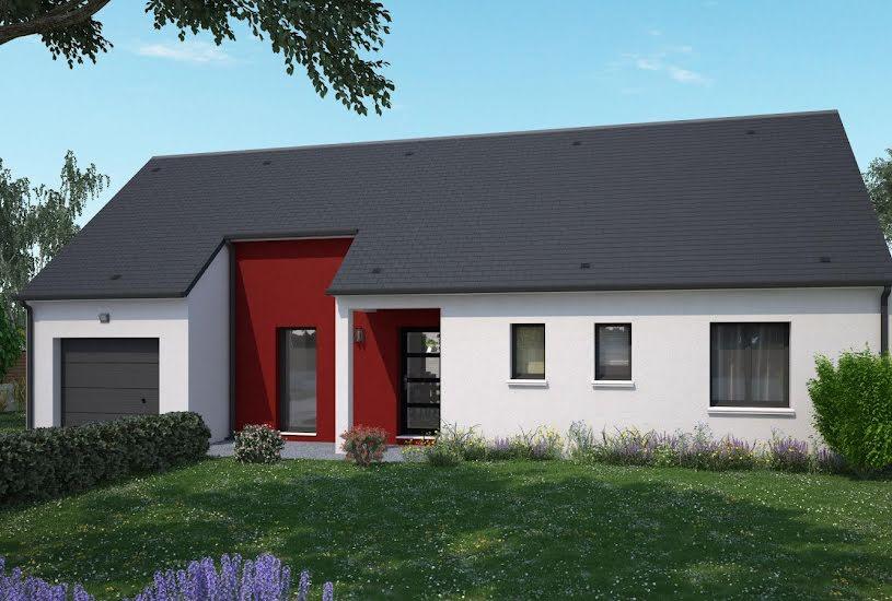 Vente Terrain + Maison - Terrain : 1000m² - Maison : 87m² à Channay-sur-Lathan (37330)