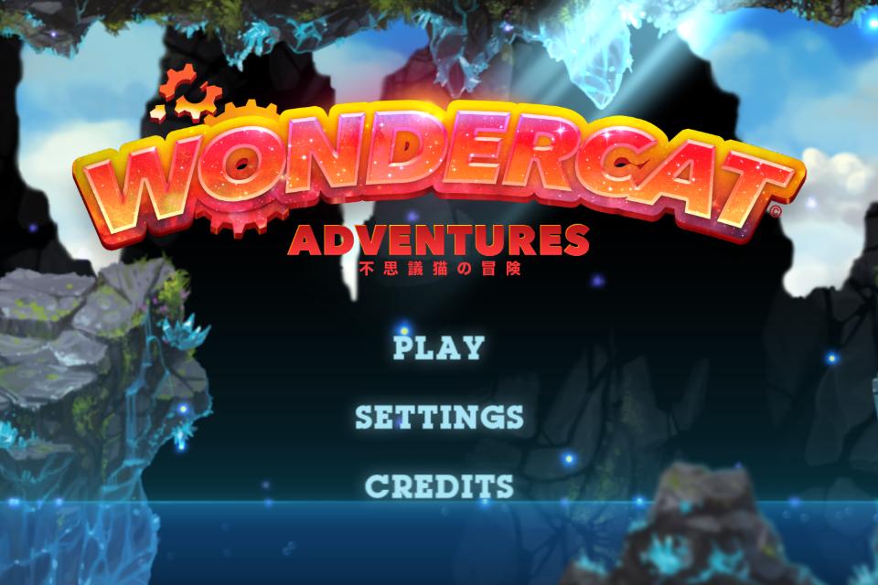 WonderCat Adventures - screenshot