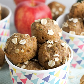 Fruit & Veggie Muffin Bites.
