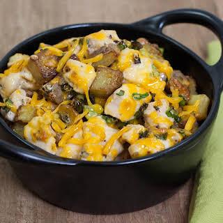 Chicken, Cheese & Potato Casserole.