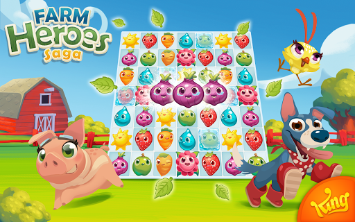 Farm Heroes Saga game (apk) free download for Android/PC/Windows screenshot