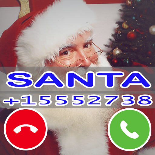 Fake Santa Claus Call Prank Simulation