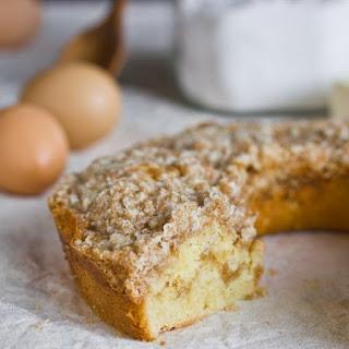 Buttery Streusel Coffee Cake.