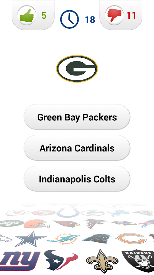 Logo American Football Quiz- screenshot