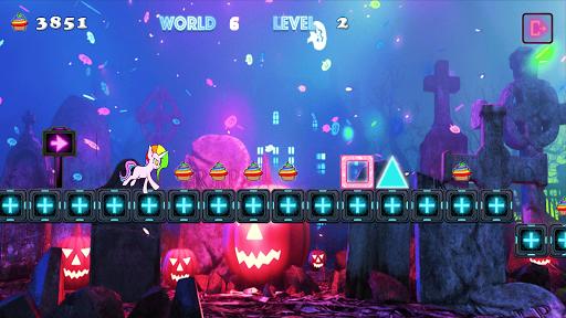 Unicorn Dash Neon Lights: Unicorn Games screenshots 6