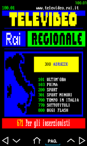 Televideo Rai screenshot 7