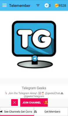 Telemember: Get Telemembers for TG Channels on Google Play
