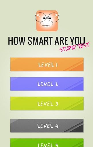 Stupid Test - How smart are you? 4.0 screenshots 3