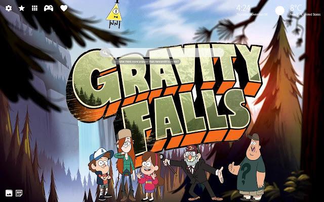 Gravity Falls Wallpaper & Gravity Falls Theme