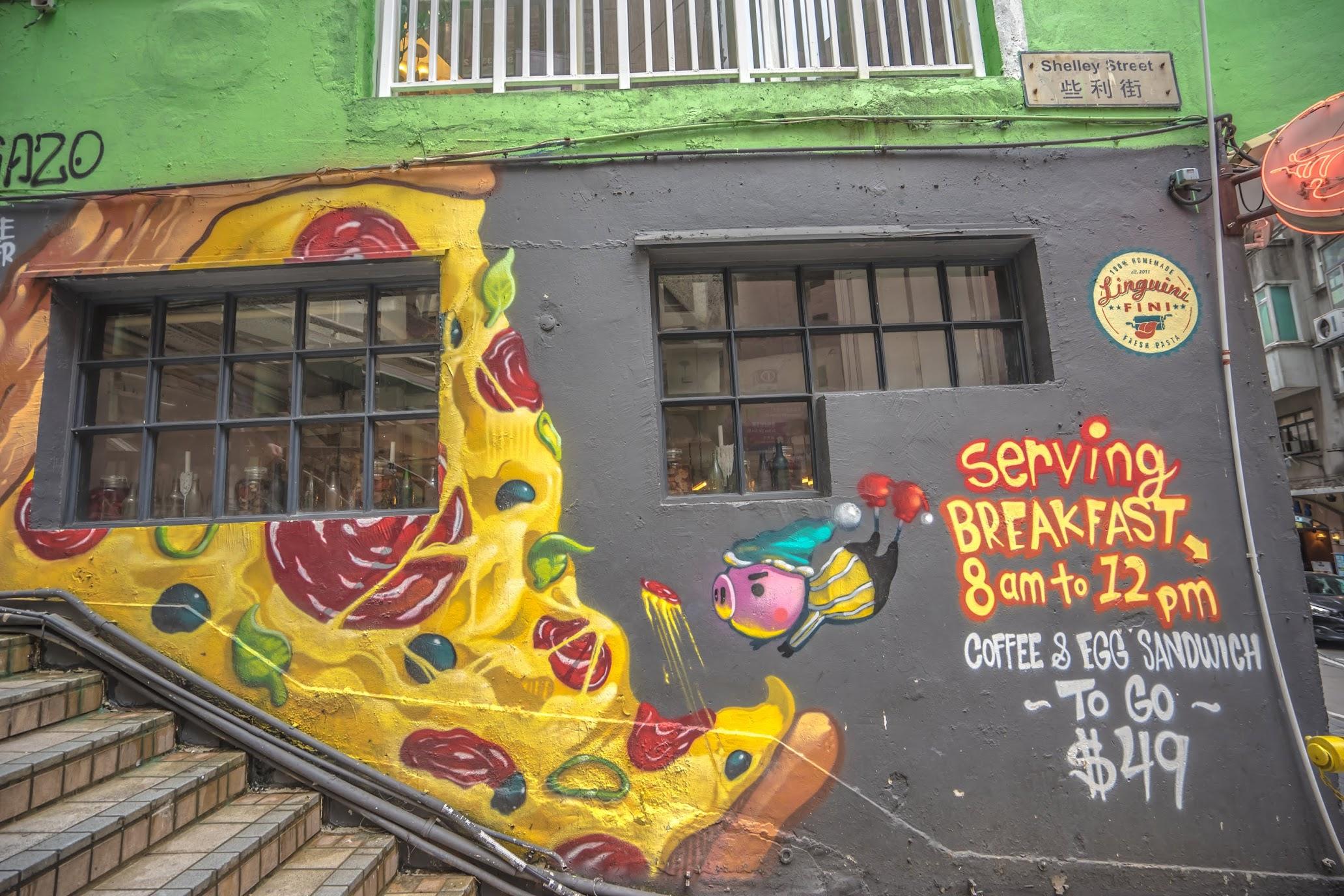 Hong Kong slope wall art1
