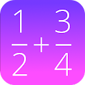 Fractions Math icon
